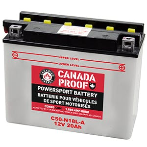 Flooded Powersport - C50N18L-A - Power Sport Batteries