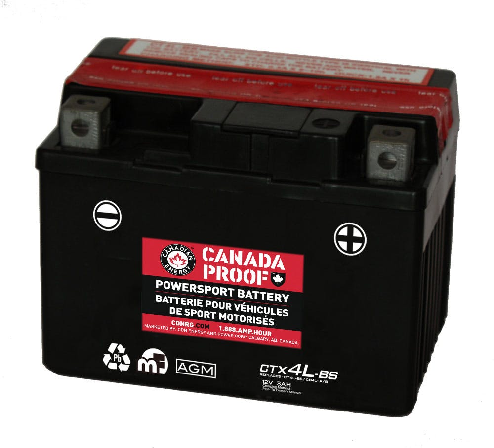 Sealed AGM Powersport - CTX4L-BS - Power Sport Batteries