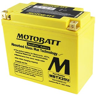 Sealed AGM Powersport - MBTX20U - Power Sport Batteries