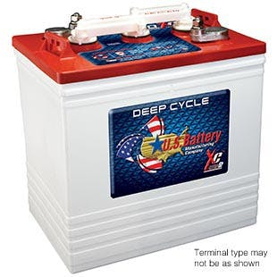 Flooded Lead Acid Deep Cycle/Traction - US2200-DUL - Starting, Lighting & Ignition Batteries